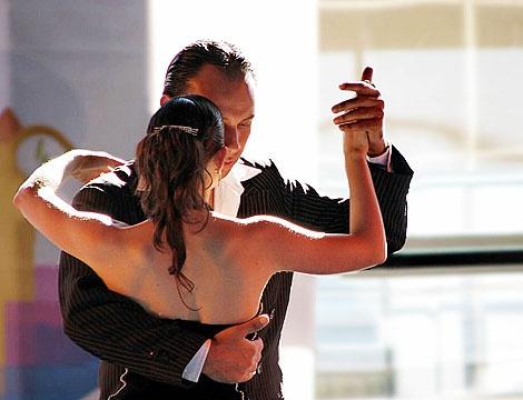 Урок бального танца для двоих
