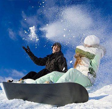 Сноуборд для двоих