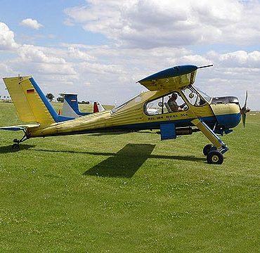 Полет на самолете Вильга-35А